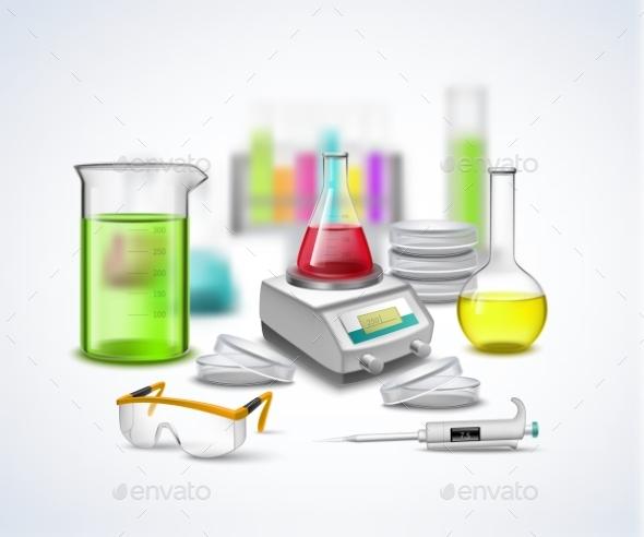 Laboratory Stuff Composition - Technology Conceptual