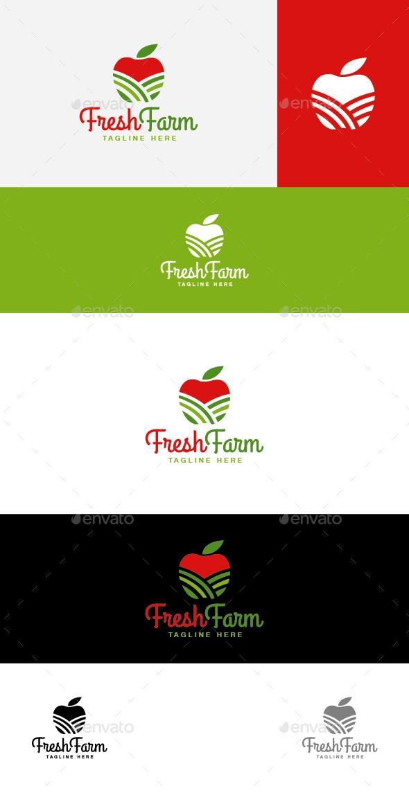 Fresh Farm - Nature Logo Templates