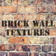 Old Brick Wall Textures - GraphicRiver Item for Sale