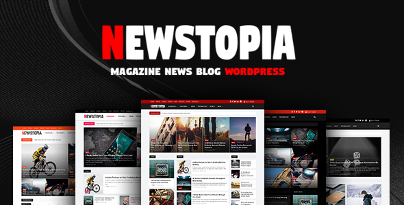 Newstopia –  WordPress Blog Magazine Theme