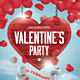 Valentines Party Flyer - GraphicRiver Item for Sale