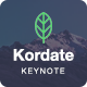 Kordate - Modern and Professional Keynote Template