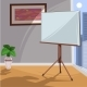 White Board for Presentation in an Office - GraphicRiver Item for Sale