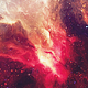Beautiful Red Space Nebula - VideoHive Item for Sale
