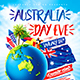 Australia Day Party Flyer vol.3 - GraphicRiver Item for Sale