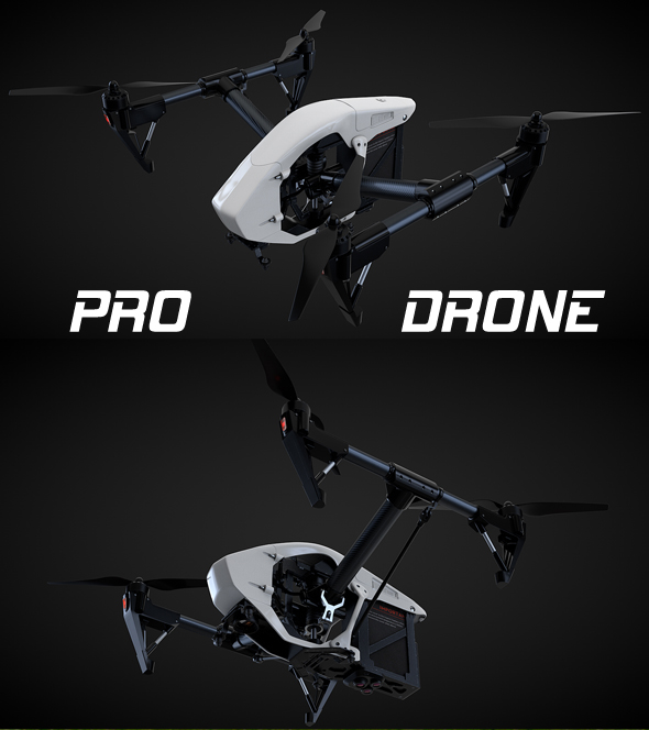 Drone Quadrocopter PRO - 3DOcean Item for Sale