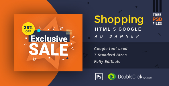 Online Shopping - HTML5 Animated Banner 13 - CodeCanyon Item for Sale