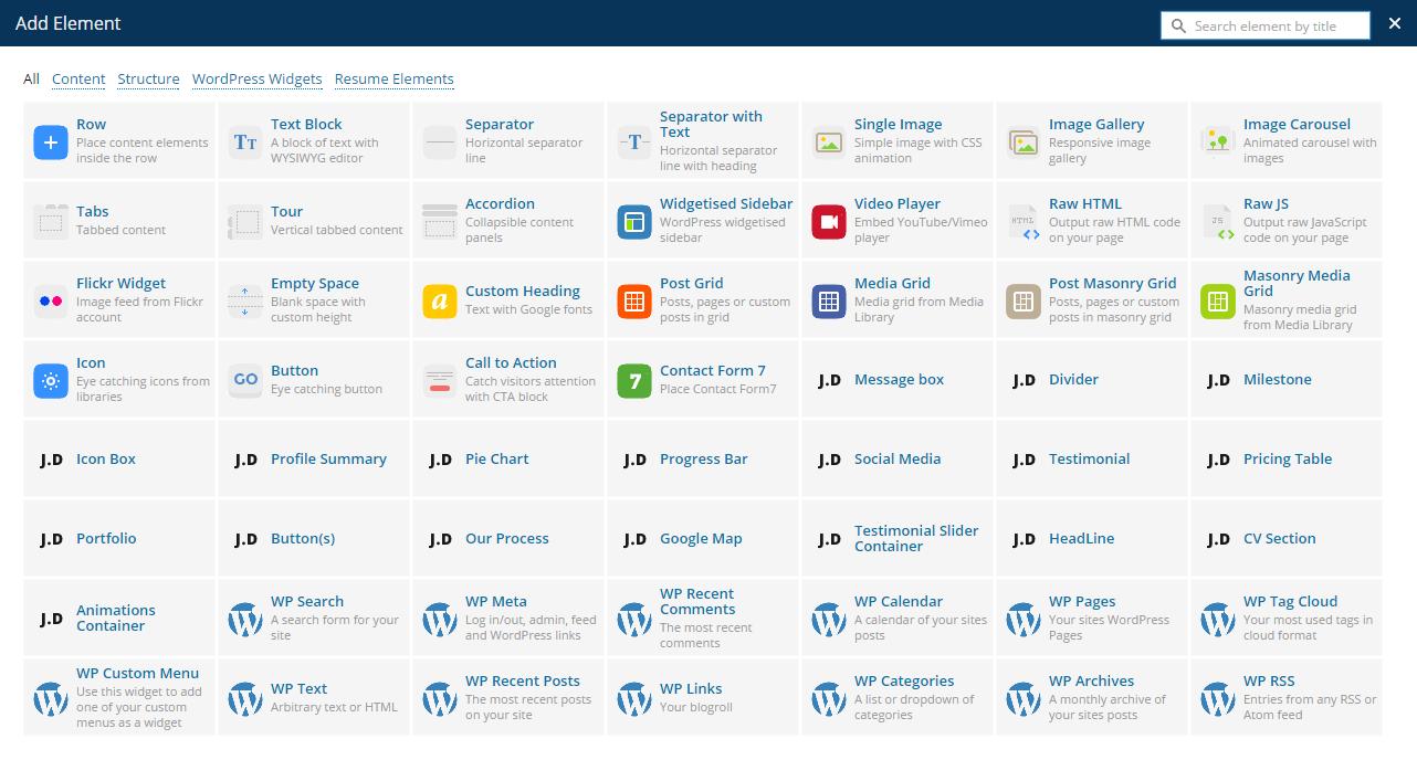 hi im responsive resume cv wordpress theme