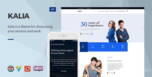Kalia - Modern Business WordPress Theme