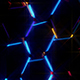Electric Hexagons Lights - VideoHive Item for Sale