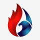 Eagle Flame Logo - GraphicRiver Item for Sale