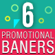 Instagram Promotional Banners - GraphicRiver Item for Sale