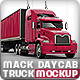 Road Truck based Mack pinnacle Mock-up - GraphicRiver Item for Sale