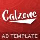 Calzone - Restaurant HTML5 Ad Template
