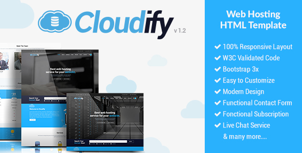 Cloudify - Web Hosting HTML Template - Hosting Technology