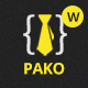 Pako Minimal Portfolio WordPress Theme - ThemeForest Item for Sale