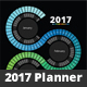 2017 Spectrum Swirl Planner - GraphicRiver Item for Sale
