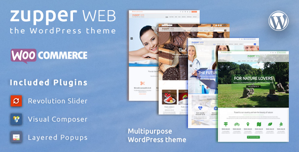 Zupper web – multipurpose responsive WooCommerce WordPress theme