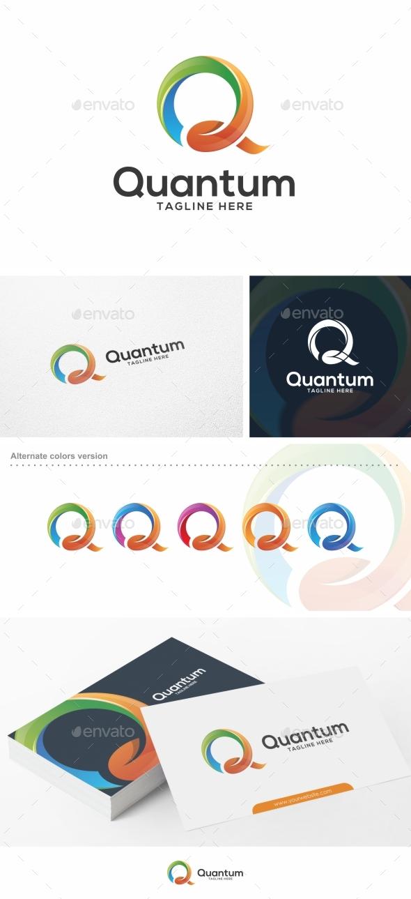 Quantum / Letter Q - Logo Template - Letters Logo Templates