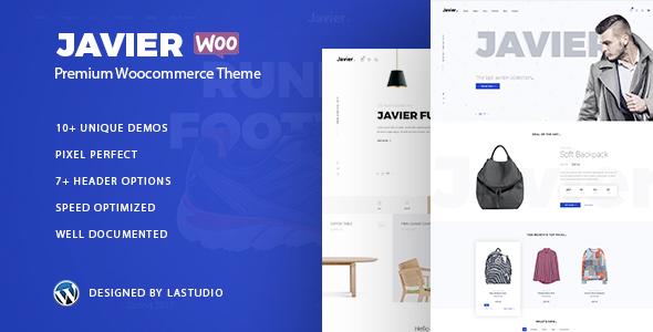 Javier - Modern WooCommerce Theme