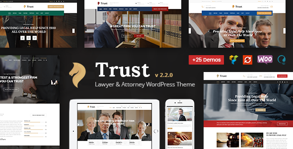 Trust - Law Firm, Lawyer & Attorney Business WordPress Theme - Business Corporate