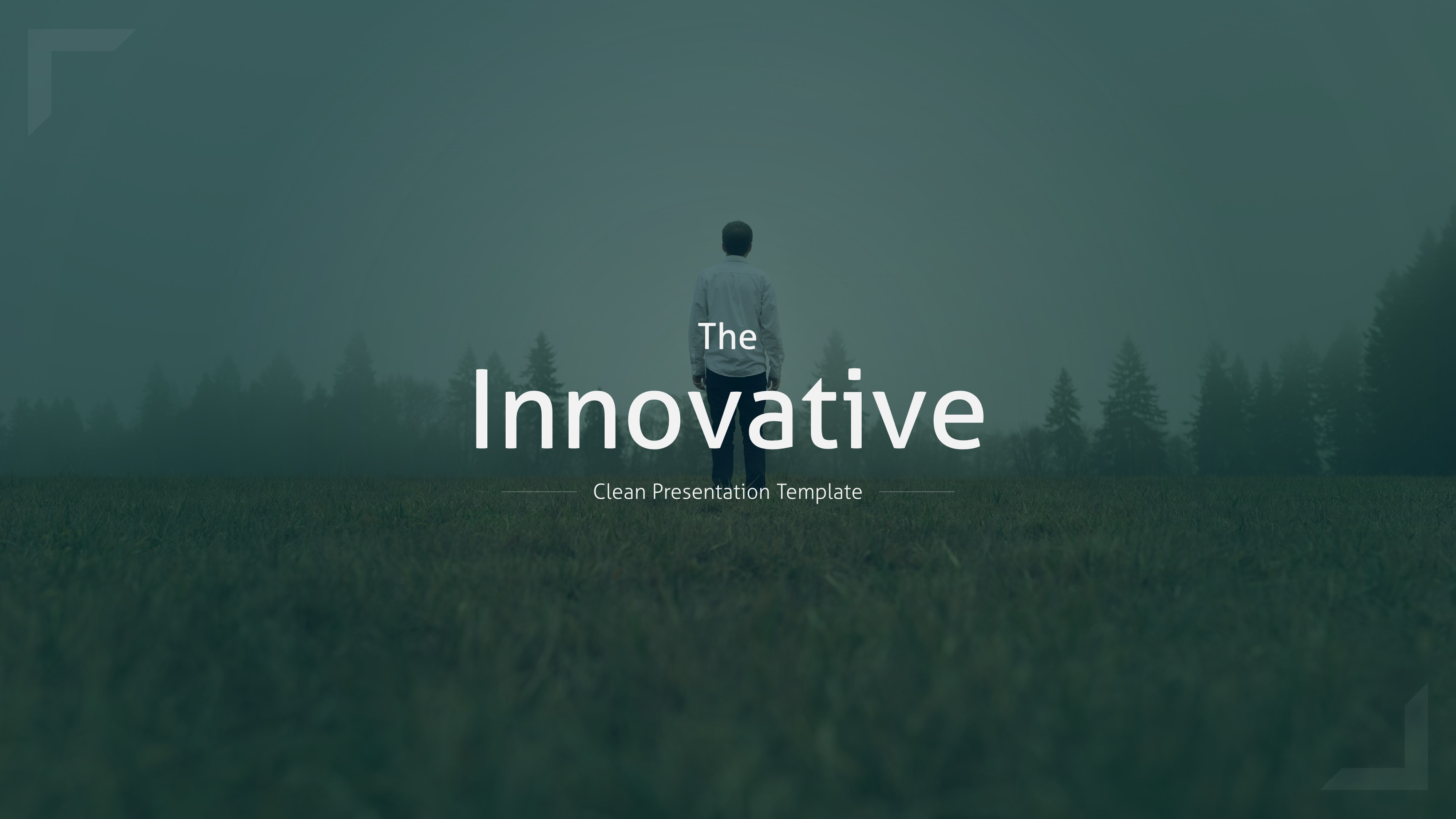 the innovative clean powerpoint template by brandearth graphicriver