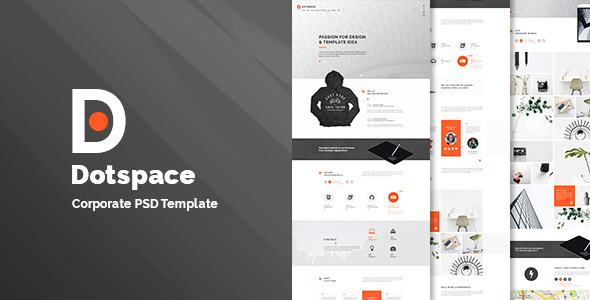 Dotspace – Corporate PSD Template