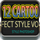 12 Cartoon Text Effect Vol 2 Nulled