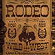Western Rodeo Flyer Template V2 - GraphicRiver Item for Sale