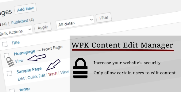 WPK Content Edit Manager - CodeCanyon Item for Sale