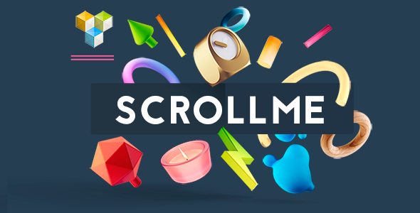 ScrollMe - scroll of elements - CodeCanyon Item for Sale