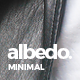 Albedo - Minimal Portfolio PSD Template - ThemeForest Item for Sale