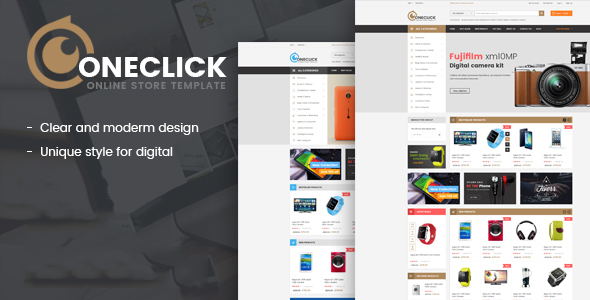 Oneclick- Electronics eCommerce Template - Electronics Technology