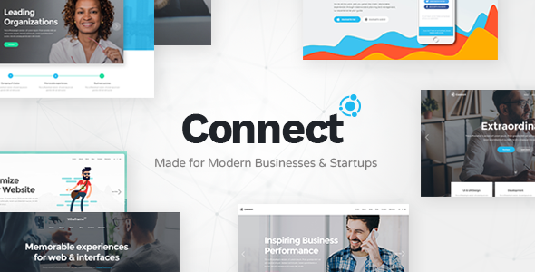 Connect - A Smart Theme for Modern Businesses and Startups