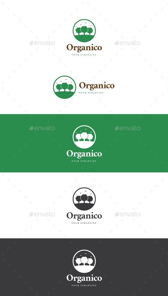 Organico Logo - Nature Logo Templates