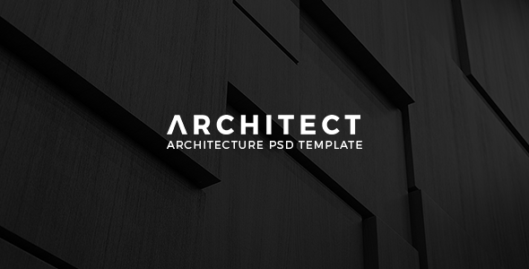 Architect – Architecture PSD Template