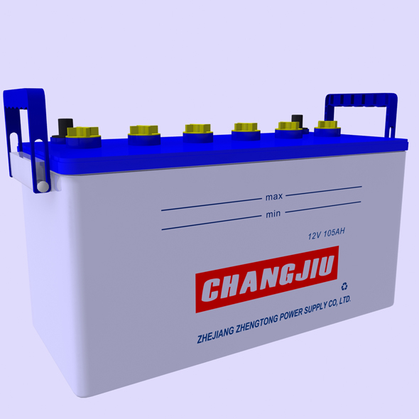 Car Battery - 3DOcean Item for Sale