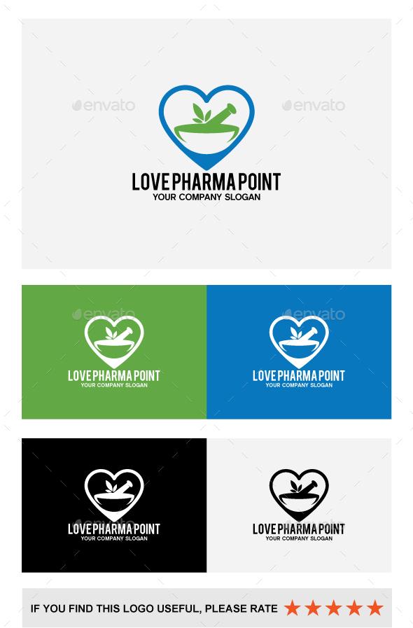 LOVE PHARMA POINT - Vector Abstract