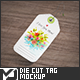 Die Cut Tag Mock-Up - GraphicRiver Item for Sale
