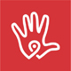 Hand Spot Point Locator Logo - GraphicRiver Item for Sale