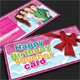 Kid Birthday Gift Voucher - GraphicRiver Item for Sale