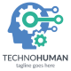 Techno Human Logo - GraphicRiver Item for Sale