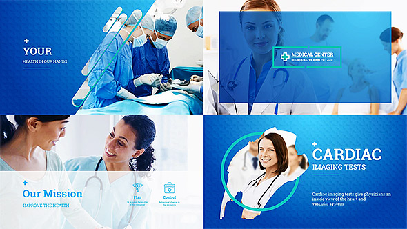 medical centerclean-promo | videohive, Presentation After Effects Template Free, Presentation templates