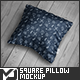 Square Pillow Mock-Up - GraphicRiver Item for Sale