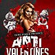 Anti Valentines Day Party Flyer Template - GraphicRiver Item for Sale