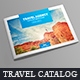 Travel Catalog / Brochure - GraphicRiver Item for Sale