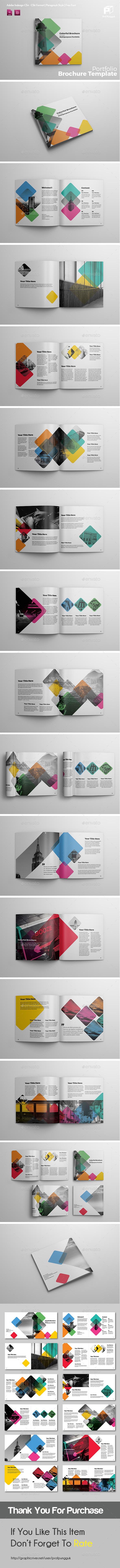 Square Brochure Vol.4 - Portfolio Brochures