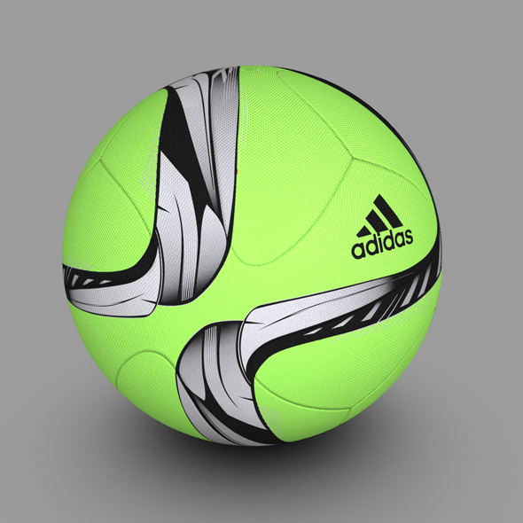 Adidas Conext15 Soccer Ball Green - 3DOcean Item for Sale