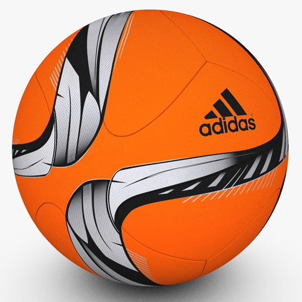 Adidas Conext15 Soccer Ball Orange - 3DOcean Item for Sale
