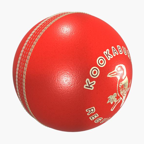 Kookaburra Cricket Ball - 3DOcean Item for Sale